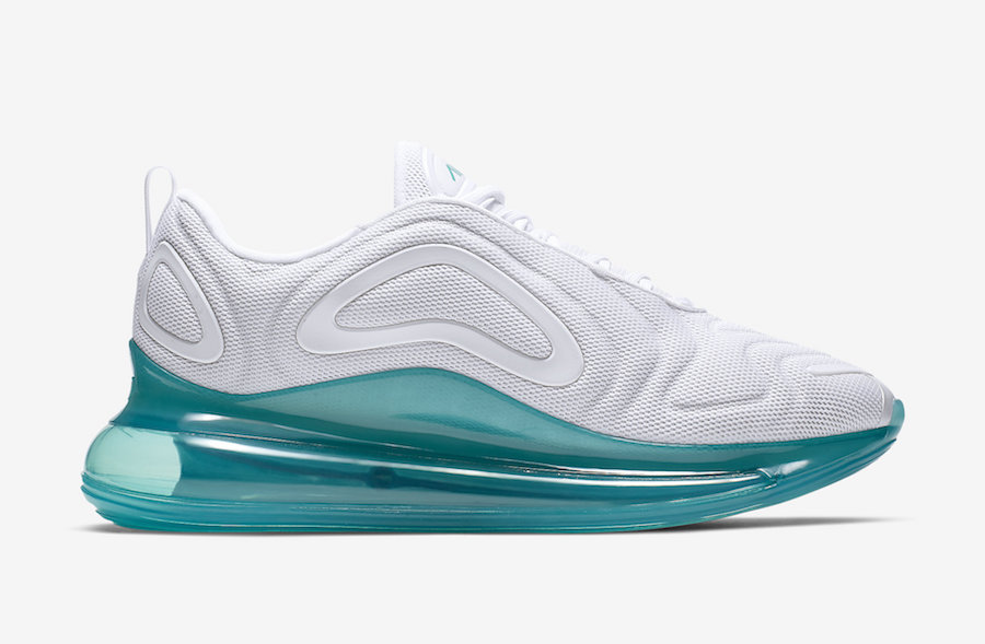 Nike Air Max 720 White Spirit Teal AO2924-103 Release Info