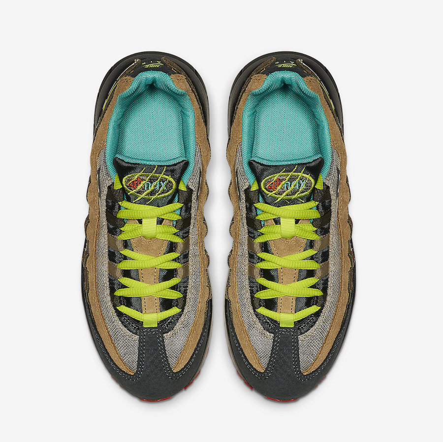 Nike Air Max 95 Kids Dinosaur CI9944-300 Release Date