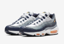 d0234539cc9 Nike Air Max 95 in Midnight Navy and Laser Orange