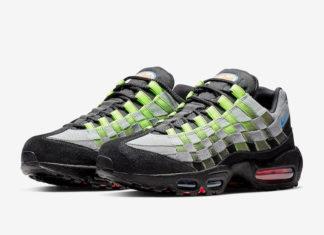 Nike Air Max 95 Woven AQ0764-001 Release Date