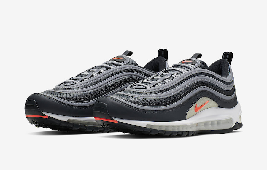 nike air max 97 anthracite white orange