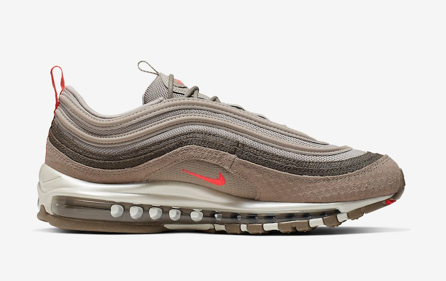 Nike Air Max 97 Moon Particle Bright Crimson 312834-205 Release Info
