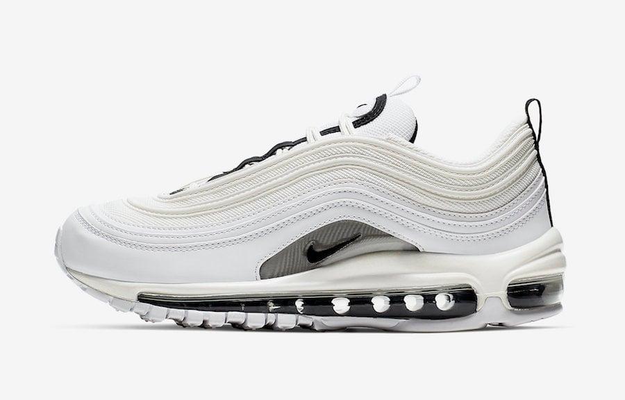 Nike Air Max 97 White Black Silver 921733-103 Release Date