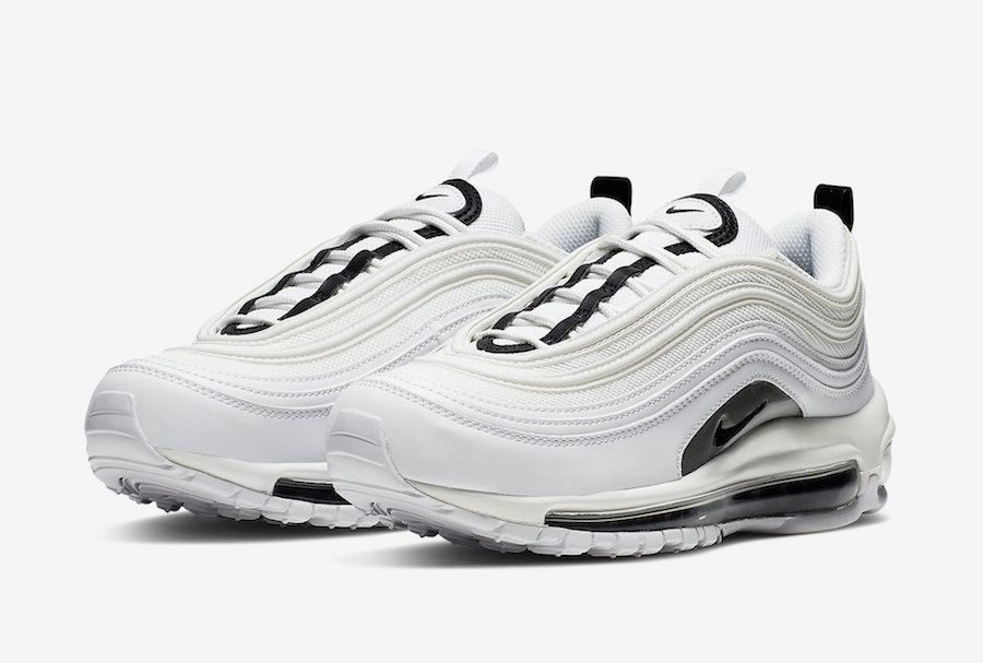 super popular 72b03 26aab Nike Air Max 97 White Black Silver 921733-103 Release Date ...