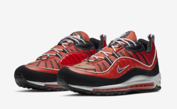 Nike Air Max 98 Red Black 640744-604 Release Date