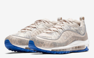 new style 373c9 281f7 This Nike Air Max 98 Features Snakeskin and Camo