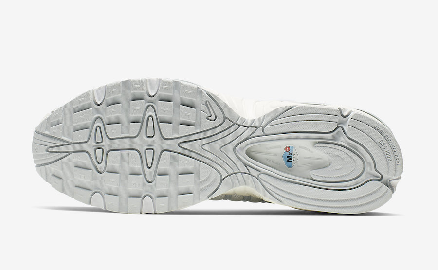 Nike Air Max Tailwind 4 Pure Platinum AQ2567-102 Release Info
