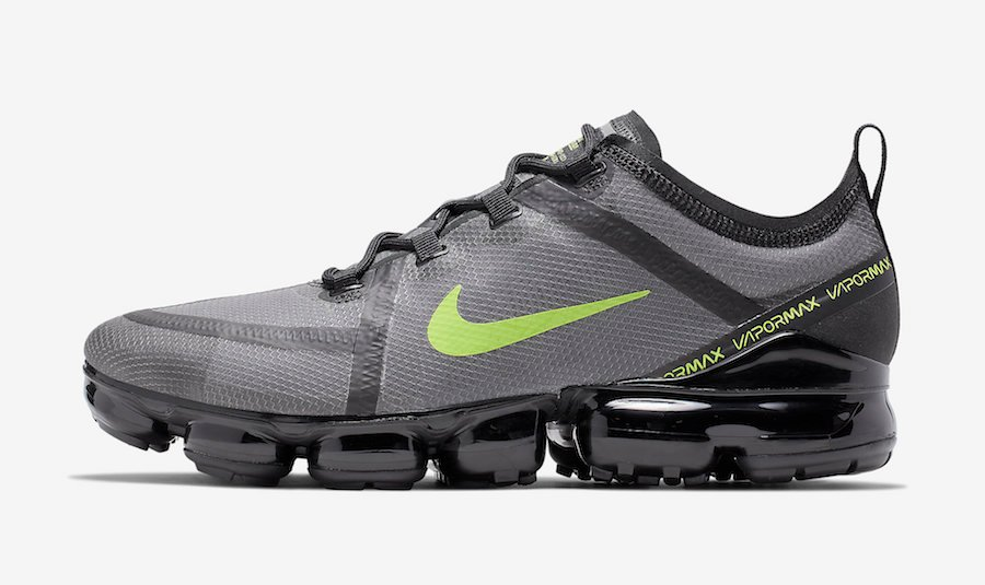 Nike Air VaporMax 2019 Wolf Grey Volt CI6400-001 Release Date