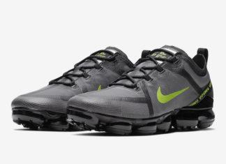 Nike Air VaporMax 2019 Wolf Grey Volt CI6400-001 Release Date