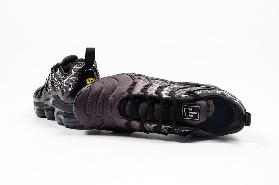 5535343eccf97 Nike Air VaporMax Plus Black White 924453-017 Release Date ...