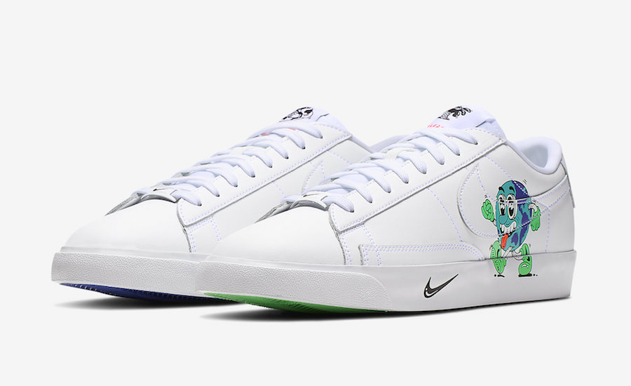 Nike Blazer Low Earth Day CI5546-100
