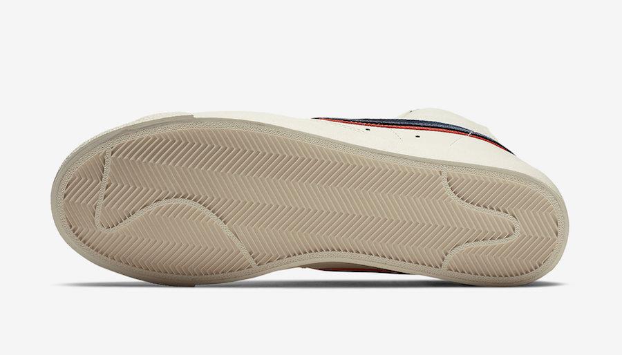 Nike Blazer Mid 77 Vintage City Pride CD9318-100 Release Date