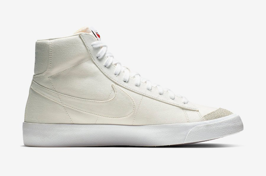 Nike Blazer Mid Sail Canvas CD8238-100 Release Date