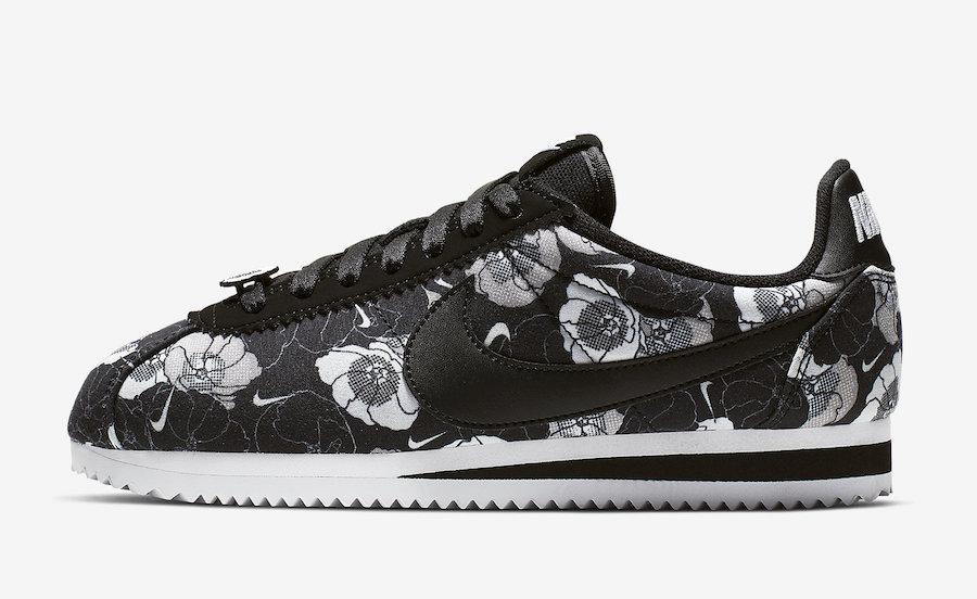 Nike Cortez Floral AV1338-001 Release Date