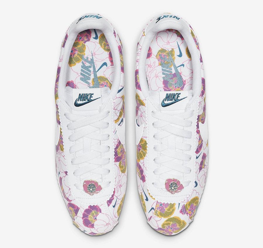 Nike Cortez Floral AV1338-100 Release Date
