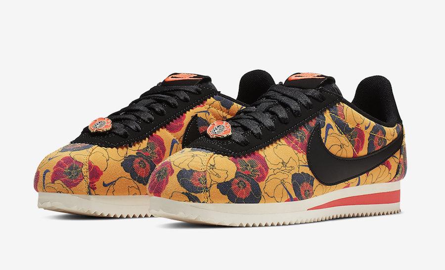 Nike Cortez Floral AV1338-700 Release Date
