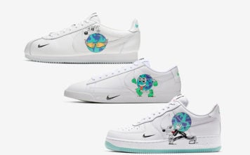 Nike Earth Day Cortez Blazer Low Air Force 1 Collection Release Date
