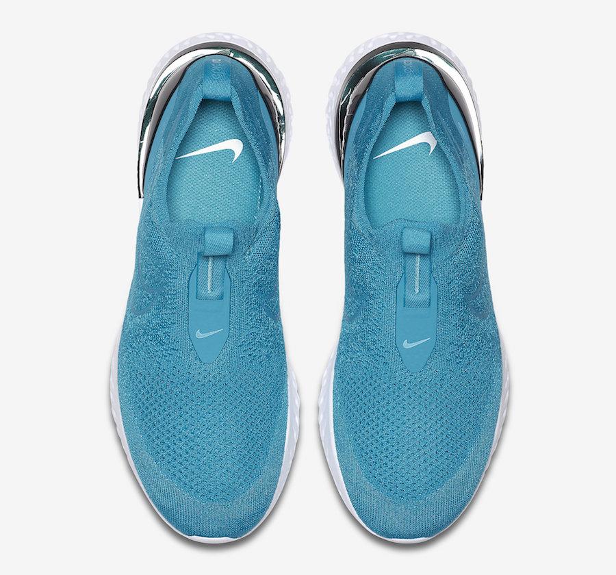 Nike Epic Phantom React Flyknit Lake Blue BV0417-400 Release Info