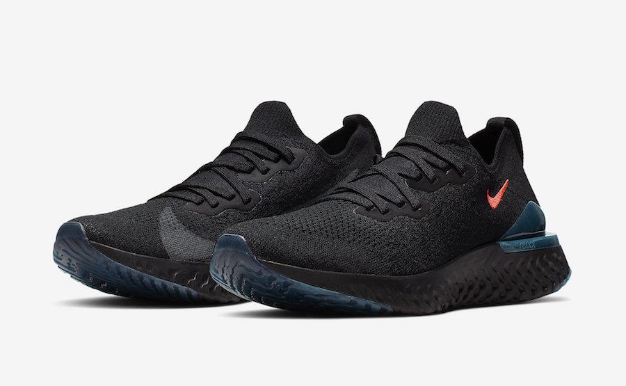 aa7a4f9ef95 Nike Epic React Flyknit 2 Späti CI1974-001 Release Info | SneakerFiles