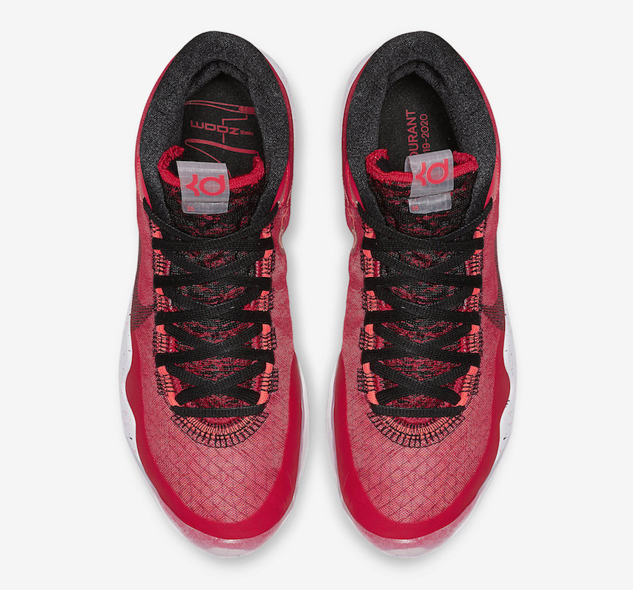 Nike KD 12 University Red AR4229-600 Release Details Price