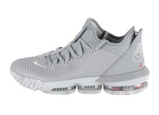 Nike LeBron 16 Low Wolf Grey University Red CI2668-003 Release Info
