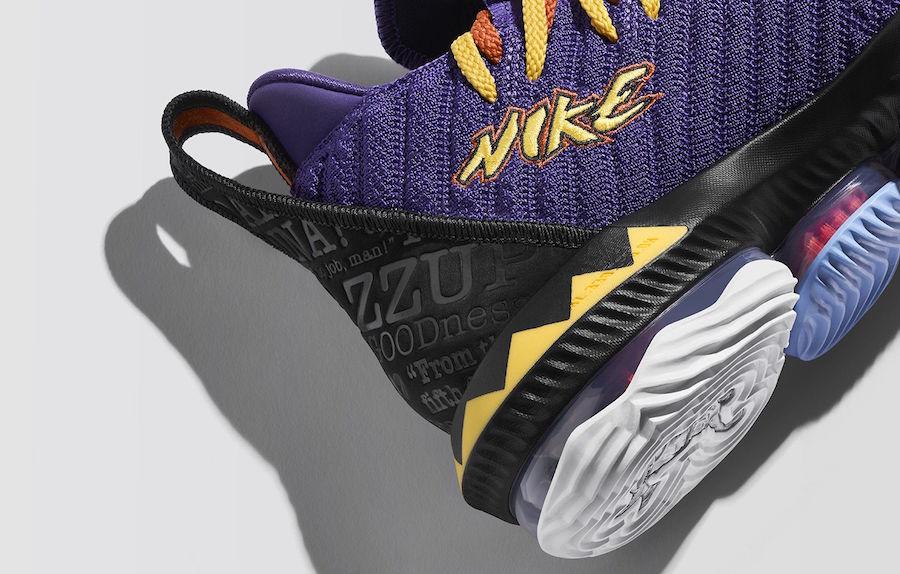 Nike LeBron 16 Martin CI1520-500 Release Date