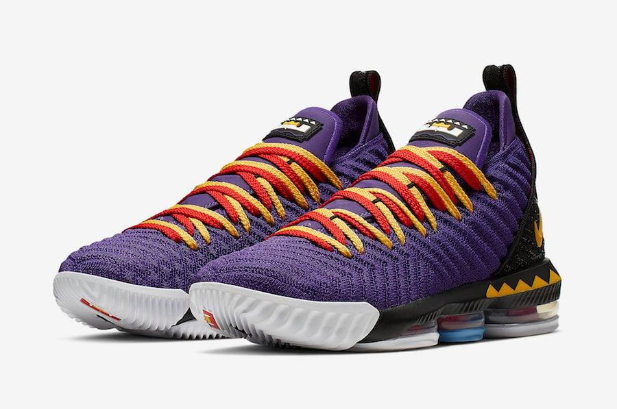 93c122b2215 Nike LeBron 16 Martin CI1520-500 Release Date