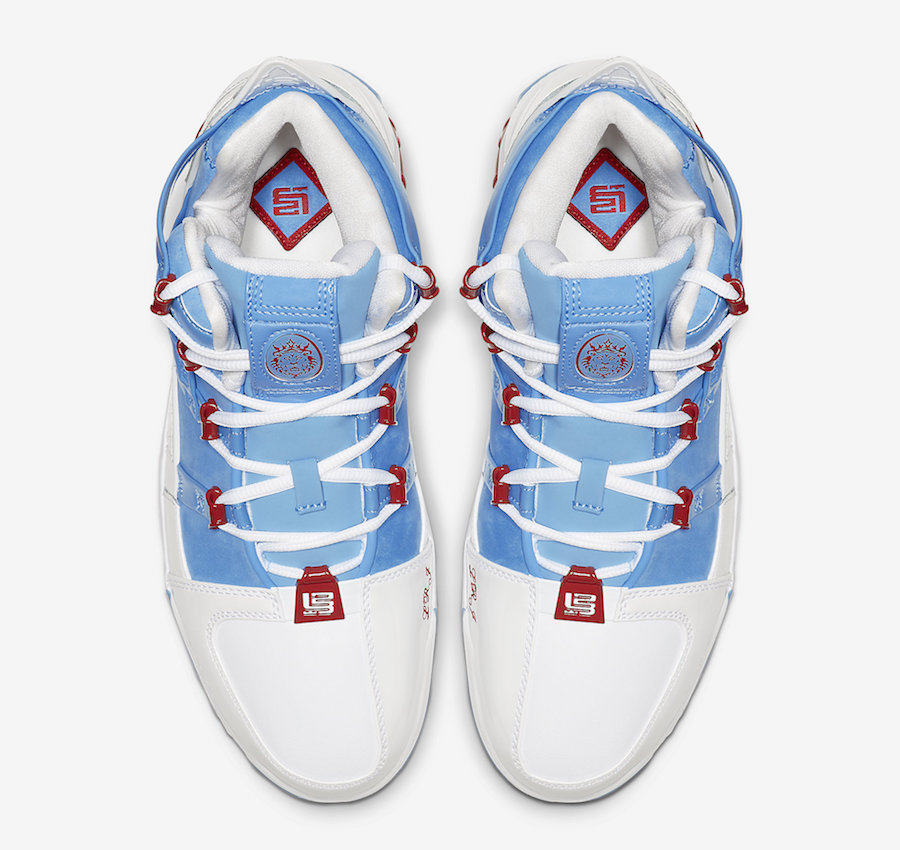 Nike LeBron 3 Houston All-Star AO2434-400 Release Info