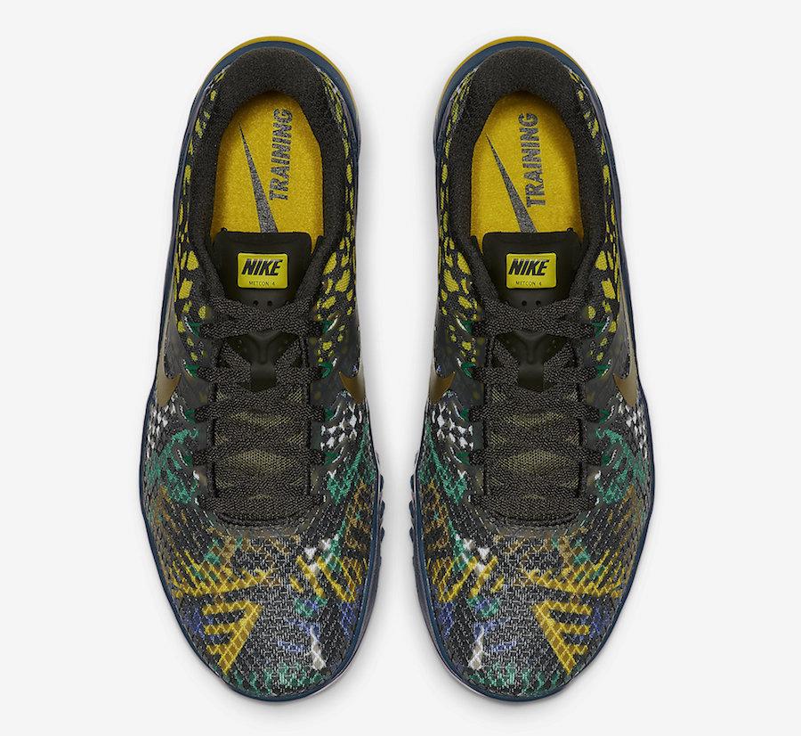 Nike Metcon 4 XD Sequoia Desert Moss Nightshade BV1636-300 Release Date