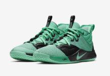 Nike PG 3 GS Menta Green Emerald Rise AQ2462-330 Release Date