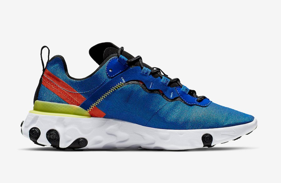 Nike React Element 55 Game Royal BQ6166-403 Release Date