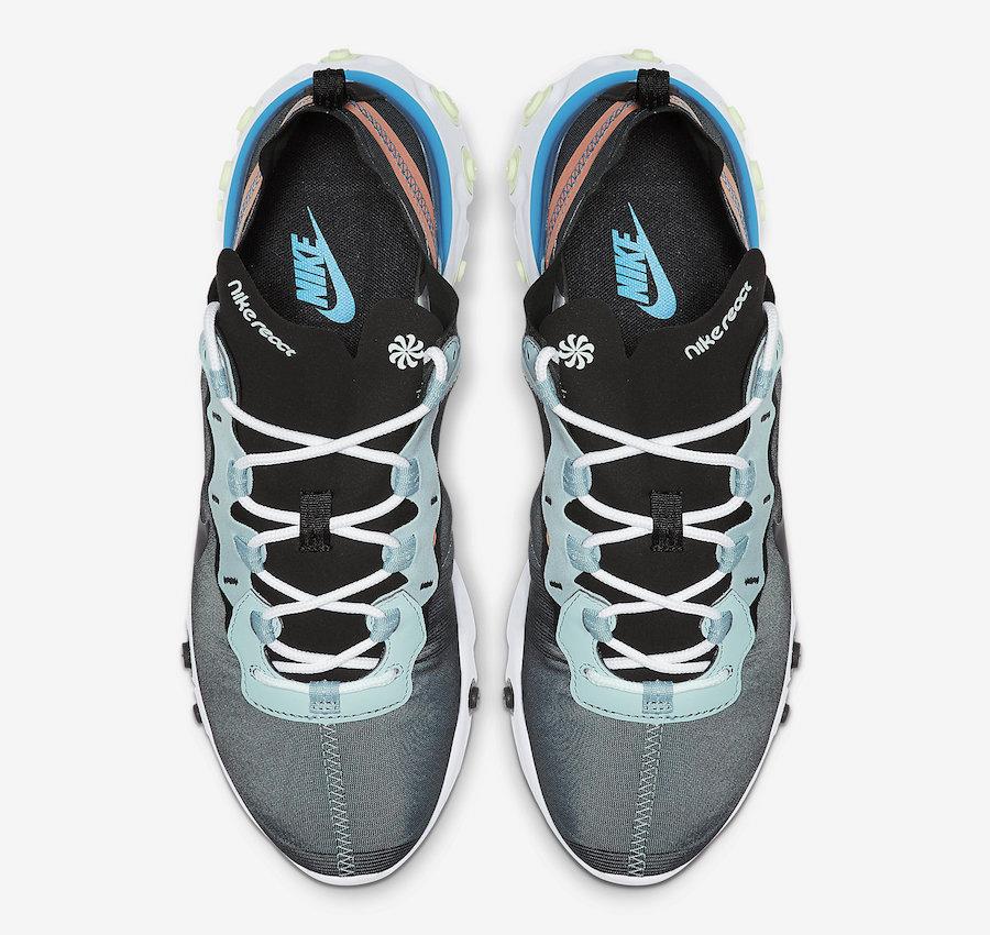 Nike React Element 55 Ocean Cube BQ6166-300 Release Info
