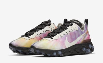 Nike React Element 55 Tie Dye CJ6896-901 Release Date