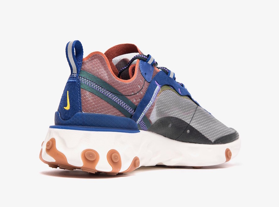 Nike React Element 87 Dusty Peach AQ1090-200 Release Date