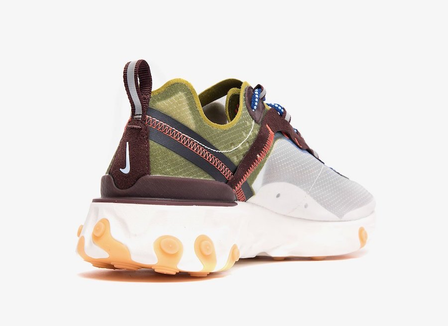 Nike React Element 87 Moss AQ1090-300 Release Date