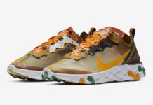 Nike React Element 87 Orange Peel CJ6897-113 Release Date