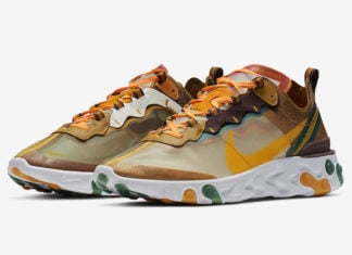 Nike React Element 87 Orange Peel CJ6897-113 Release Date