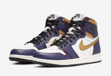Nike SB Air Jordan 1 Lakers CD6578-507 Release Details Price