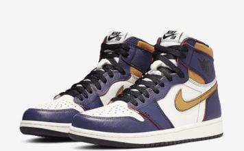 Nike SB Air Jordan 1 Lakers CD6578-507 Release Details Price