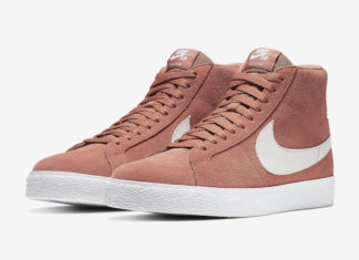 b16976f23759b4 Nike SB Blazer Mid  Dusty Peach  Starting to Release