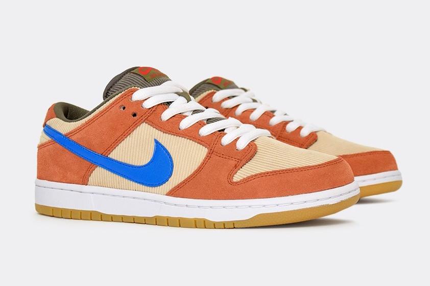 Nike SB Dunk Low Corduroy BQ6817-201 Release Date