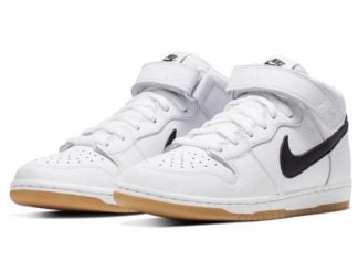 Nike SB Dunk Mid Orange Label White Gum Release Info