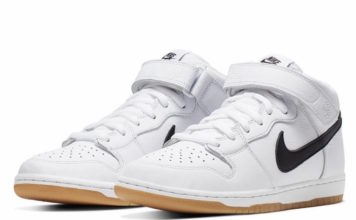6d98b898c837e7 Nike SB Dunk Mid  Orange Label  Releasing in White and Gum