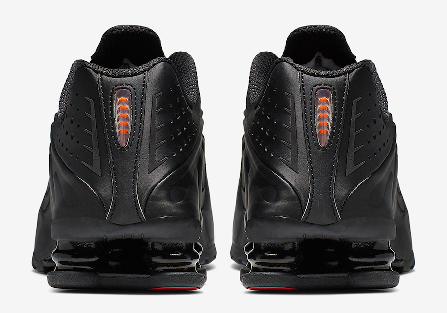 Nike Shox R4 Black Max Orange AR3565-004 Release Info
