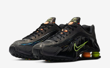 finest selection 365cd afbdd Nike Shox R4 Releasing with Volt, Orange and Purple Accents