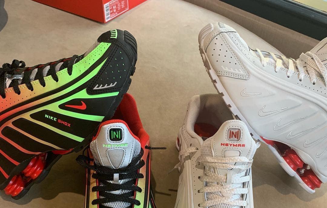Neymar Jr. Showcases Nike Shox R4 Collaboration