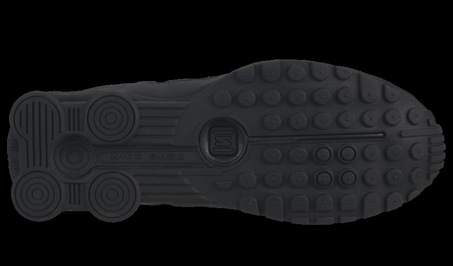 hot sale online c24ad a7cd4 Nike Shox R4 Triple Black 104265-044 Release Date