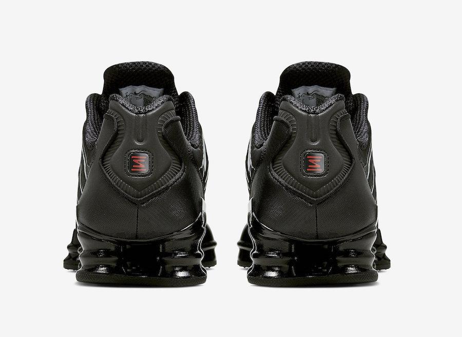 Nike Shox TL Black Metallic Hematite AV3595-002 Release Info