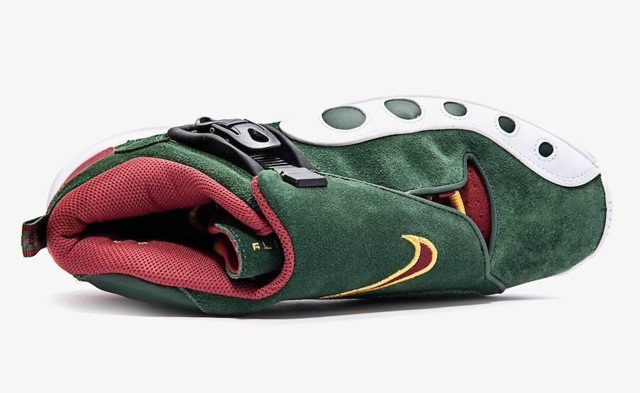 Nike Zoom GP Seattle Supersonics AR4342-300 Release Info