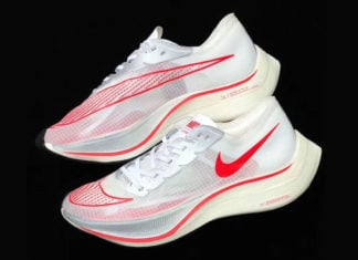 Nike Zoom VaporFly 5% White University Red Release Date